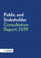 IBCB Public and Stakeholder Consulation Report 2018