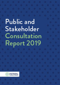 IBCB Public and Stakeholder Consultation Report 2019