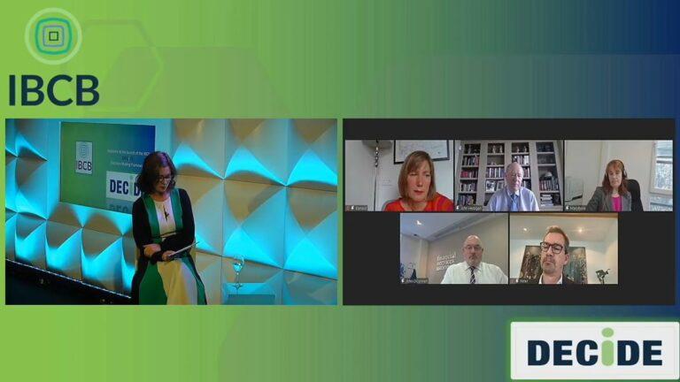 IBCB Panel Discussion